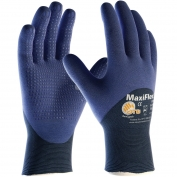 PIP 34-245 MaxiFlex Elite Ultra Lightweight Seamless Knit Nylon Gloves - Nitrile Coated Micro-Foam Grip on Palm, Fingers & Knuckles
