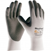 PIP 34-800 MaxiFoam Premium Seamless Knit Nylon Gloves - Nitrile Coated Foam Grip on Palm & Fingers