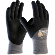 PIP 34-845 MaxiFlex Endurance Seamless Knit Nylon Gloves with Nitrile Coated Palm, Fingers & Knuckles