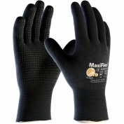PIP 34-8745 MaxiFlex Endurance Seamless Knit Nylon/Lycra Gloves with Nitrile Coated on Full Hand - Micro Dot Palm
