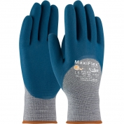PIP 34-9025 MaxiFlex Comfort Seamless Knit Cotton/Nylon/Lycra Gloves - Nitrile Coated Micro-Foam Grip on Palm, Fingers & Knuckles