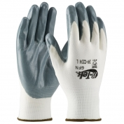 PIP 34-C234 G-Tek Seamless Knit Nylon Gloves - Nitrile Coated Foam Grip on Palm & Fingers - Economy Grade