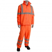 PIP 353-1000 Flacon Viz Class 3 Two-Piece Value Rainsuit - Orange