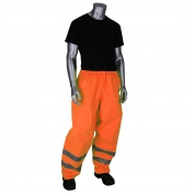 PIP 353-2002 VizPLUS Class E Waterproof Rain Pants - Orange
