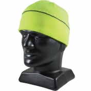 PIP 360-BEANNIE Hi-Vis Winter Beanie Cap with Reflective Stripe - Yellow/Lime