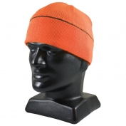 PIP 360-BEANNIE Hi-Vis Winter Beanie Cap with Reflective Stripe - Orange