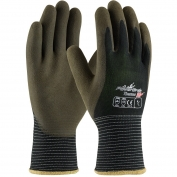 PIP 41-1430 PowerGrab Thermo Seamless Knit Nylon Gloves with Acrylic Liner - Latex MicroFinish Grip on Palm & Fingers