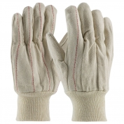 PIP 92-918 Cotton Canvas Double Palm Gloves with Nap-in Finish - Knitwrist