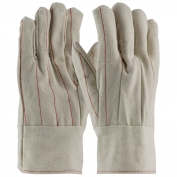 PIP 92-918BT Cotton Canvas Double Palm Gloves with Nap-in Finish - Band Top