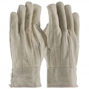 PIP 92-918BTO Cotton Canvas Double Palm Gloves with Nap-in Finish - Band Top