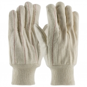 PIP 92-918O Cotton Canvas Double Palm Gloves with Nap-out Finish - Knitwrist
