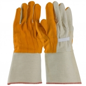 PIP 93-578G Premium Grade Cotton Chore Gloves with Double Layer Palm/Back and Nap-out Finish