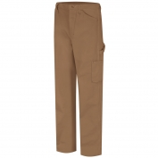 Bulwark FR PLJ8 Men's Dungaree - EXCEL FR ComforTouch - 11.0 oz. - Brown Duck