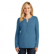 Port Authority LK5432 Ladies Concept Henley Tunic