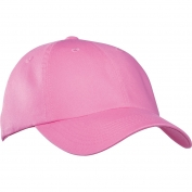 Port Authority PWU Garment-Washed Cap - Bright Pink