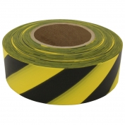 Presco SYBK Striped Roll Flagging Tape - Yellow/Black