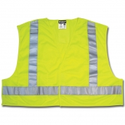 River City PSV200 ANSI 207 Breakaway Mesh Safety Vest - Yellow/Lime