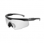 Wiley X PT-1 Safety Glasses - Matte Black Frame - Clear Lens