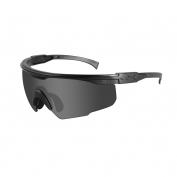Wiley X PT-1 Sunglasses - Matte Black Frame - Grey Lens
