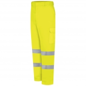 Red Kap PT18HVB Hi-Visibility Utility Pocket Pants - Yellow/Lime