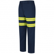 Red Kap PT20EN Enhanced Visibility Dura-Kap Industrial Pants - Navy