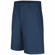 Red Kap PT26 Men's Plain Front Shorts - Navy