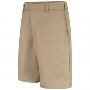 Red Kap PT4C Men's Cell Phone Pocket Shorts - Khaki