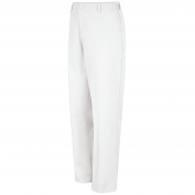 Red Kap PT60 Men's Elastic Insert Work Pants - White
