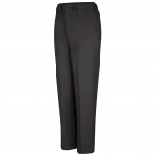 Red Kap PT61 Women's Elastic Insert Work Pants - Black