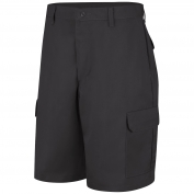 Red Kap PT66 Men's Cargo Shorts - Black