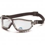 Pyramex V2G Readers Safety Glasses/Goggles - Black Frame - Clear Anti-Fog Bifocal Lens