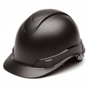 Pyramex HP44117 Ridgeline Hard Hat - 4-Point Ratchet Suspension - Graphite Pattern