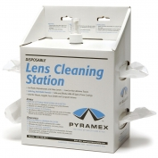 Pyramex LCS20 Lens Cleaning Station - 16 oz. Cleaning Solution & 1200 Tissues