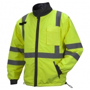 Pyramex RJR3410 Type R Class 3 4-in-1 Reversible Windbreaker Jacket