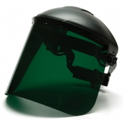 Pyramex S1035 Polyethylene Face Shield - Dark Green