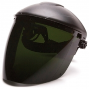 Pyramex S1150 Tapered Polycarbonate Face Shield - IR5 Green