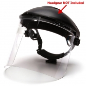 Pyramex S1210 Cylinder Polycarbonate Face Shield - Clear