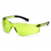 Pyramex S2514R Ztek Readers Safety Glasses - Rubber Temple Tips - 1.5 IR Filter Bifocal Lens