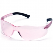Pyramex Mini Ztek Safety Glasses - Pink Temples - Pink Lens