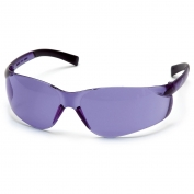 Pyramex S2565S Ztek Safety Glasses - Rubber Temple Tips - Purple Haze Lens