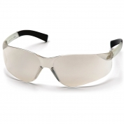 Pyramex Mini Ztek Safety Glasses - Clear Temples - Indoor/Outdoor Mirror Lens
