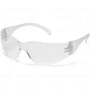 Pyramex S4110S Intruder Safety Glasses - Clear Temples - Clear Lens