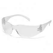 Pyramex S4110SUC Intruder Safety Glasses - Clear Temples - Clear Uncoated Lens
