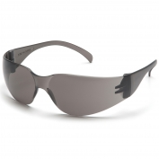Pyramex Intruder Safety Glasses - Gray Temples - Gray Lens