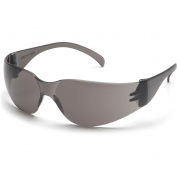 Pyramex S4120ST Intruder Safety Glasses - Gray Temples - Gray Anti-Fog Lens