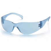 Pyramex Intruder Safety Glasses - Blue Frame - Blue Lens