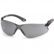 Pyramex Itek Safety Glasses - Gray Temples - Gray Anti-Fog Lens