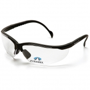 Pyramex SB1810R Venture II Readers Safety Glasses - Black Frame - Clear Bifocal Lens