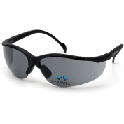 Pyramex SB1820R Venture II Readers Safety Glasses - Black Frame - Gray Bifocal Lens