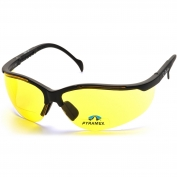 Pyramex SB1830R Venture II Readers Safety Glasses - Black Frame - Amber Bifocal Lens